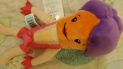 KATIE THE CARROT PLUSH TOY- GOOD TOY FOR KIDS 2-9 YEARS