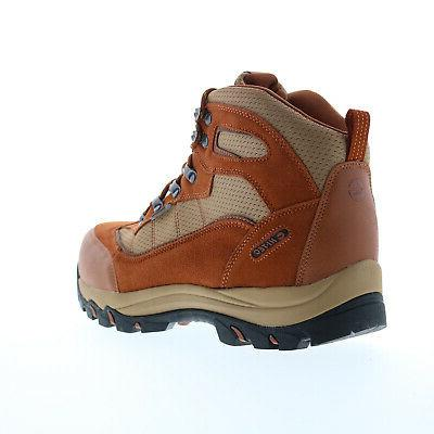Hi-Tec Skamania 9526 Mens Brown Suede Lace Up Hiking Boots