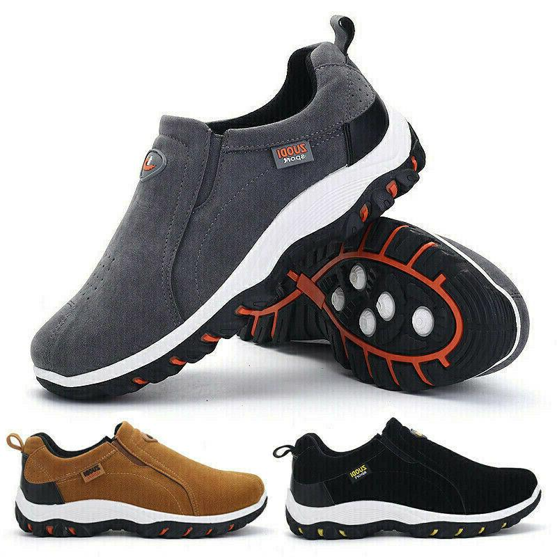 men s hiking shoes slip on sneaker