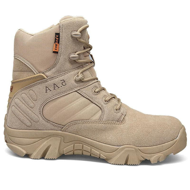Men's Military Boots Outdoor Hiking Camping
