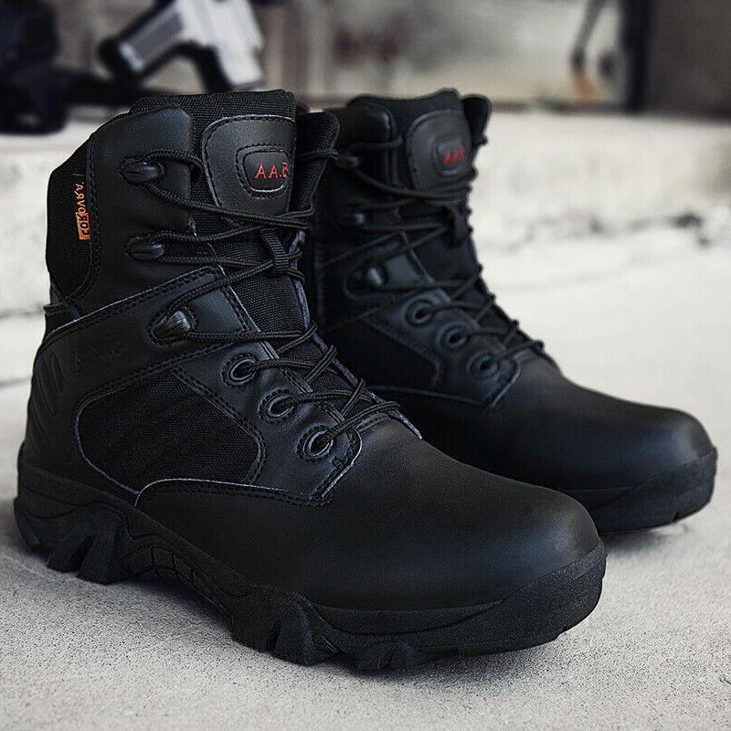 Men's Military Boots Shoes Outdoor Hiking Combat Camping Tactical Desert