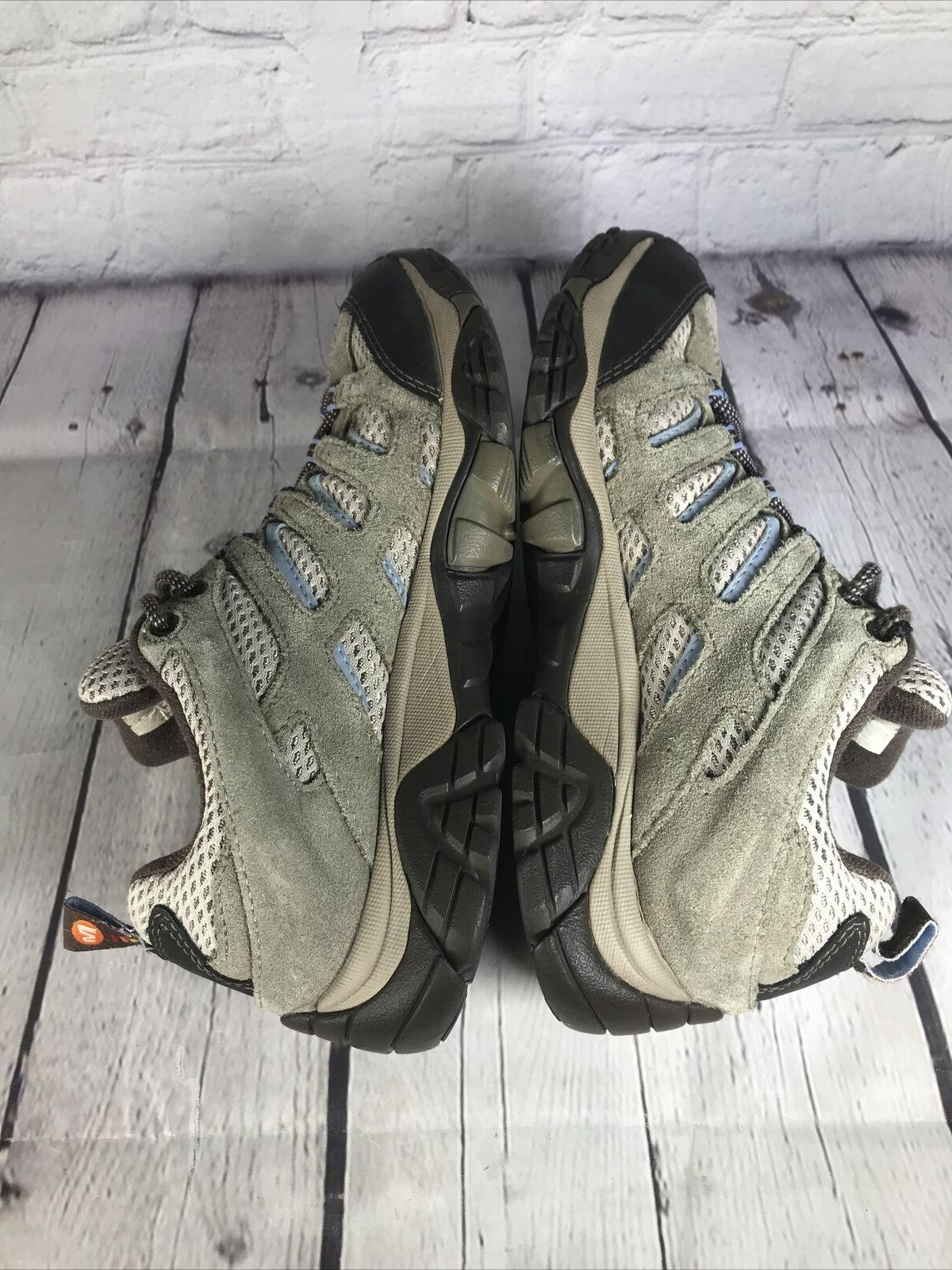 Merrell Moab Gray Hiking Shoes/Boots Soles Size 8