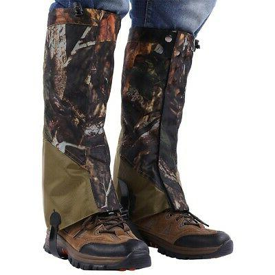 Outdoor Hunting Hiking Gaiters Leg Shoes