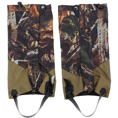 Outdoor Hunting Hiking Boots Gaiters Waterproof Snow Leg Shoes