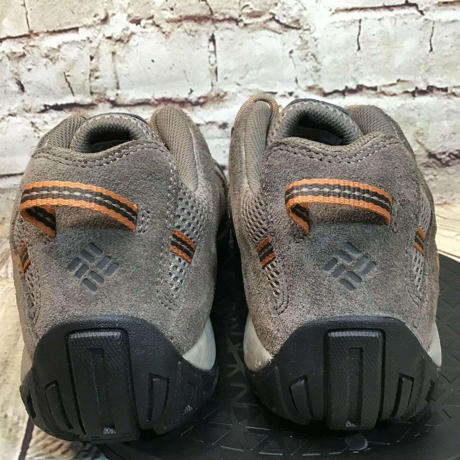 Columbia Redmond Leather Mesh Low Hiking Shoes Size 10