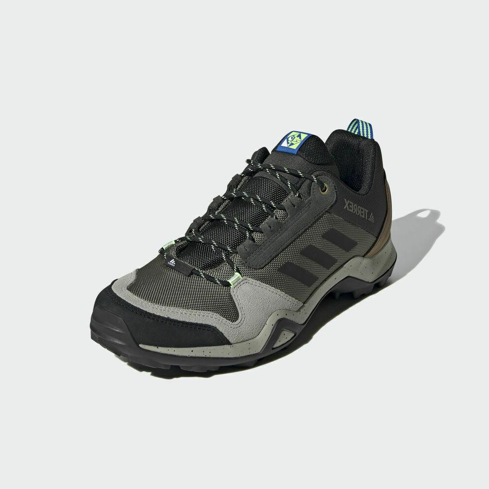 Adidas Terrex Mens Shoes TERREX AX3 BLUE MEN'S HIKING BOOT E