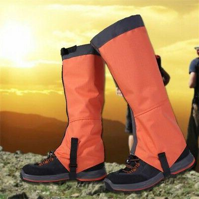 Waterproof Mountain Hiking Hunting Boot Snake High Leg Shoes Cover