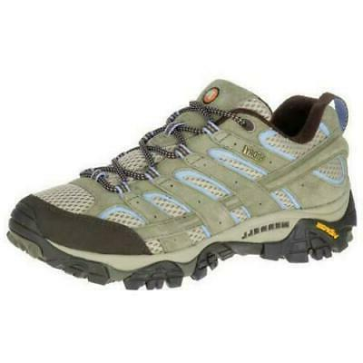 womens moab waterproof dusty olive hiking shoes