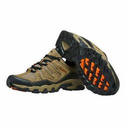 NEW - Fila Men's MIDLAND Trail Hiking Shoes Brown Orange Bla