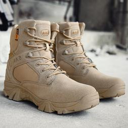 Men's Military Boots Shoes Outdoor Hiking Combat for Camping