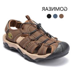 Men's Summer Closed Toe Wading Sandals Hiking Sport Casual F
