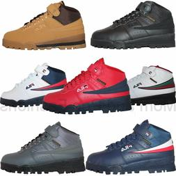 Mens Fila F13 F-13 Mid High Top Weather Tech Sneaker Boots S