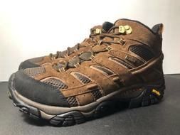 Merrell Moab 2 Mid Waterproof Hiking Boots Earth Brown Mens