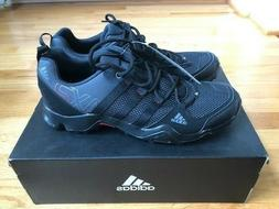 New Adidas Outdoor Men's AX2 Trail Hiking Shoes Black/Gray T