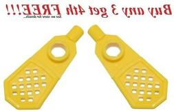 ☀️NEW LEGO MINIFIG YELLOW SNOWSHOES Winter Camping Hikin