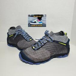 New Women Merrell Chameleon 7 Knit Mid Hiking Shoes Charcoal
