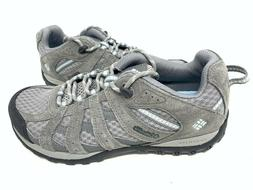 NEW! Columbia Women's Redmond Hiking Shoes Lace Up Gray #BL3