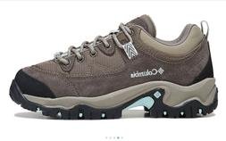 New COLUMBIA Womens Hiking Shoes Low Ankle Trail Boots Leath