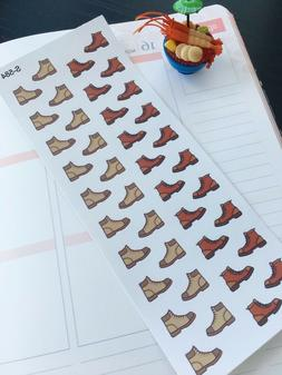 S584-Hiking Shoes, Hiking Boots, Waterproof: Planner Sticker