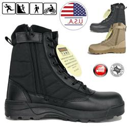 SWAT Mens Tactical Duty Boots Army Military Combat Army Work