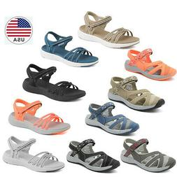 DREAM PAIRS Women's Sport Athletic Sandals Flexible Outdoor
