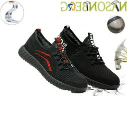 Women's Work Safety Shoes Steel Toe Boots Indestructible Bre