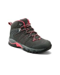 Clorts Womens Hiker Leather Waterproof Hiking Boot Outdoor B